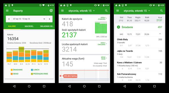 FatSecret - aplikacja do liczenia kalorii